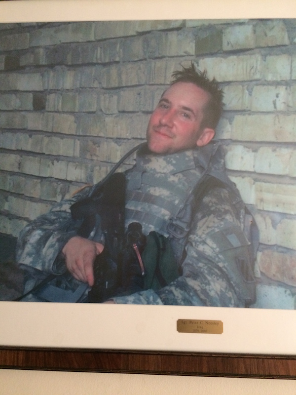 Peter Collins Neesley, US Army Sgt