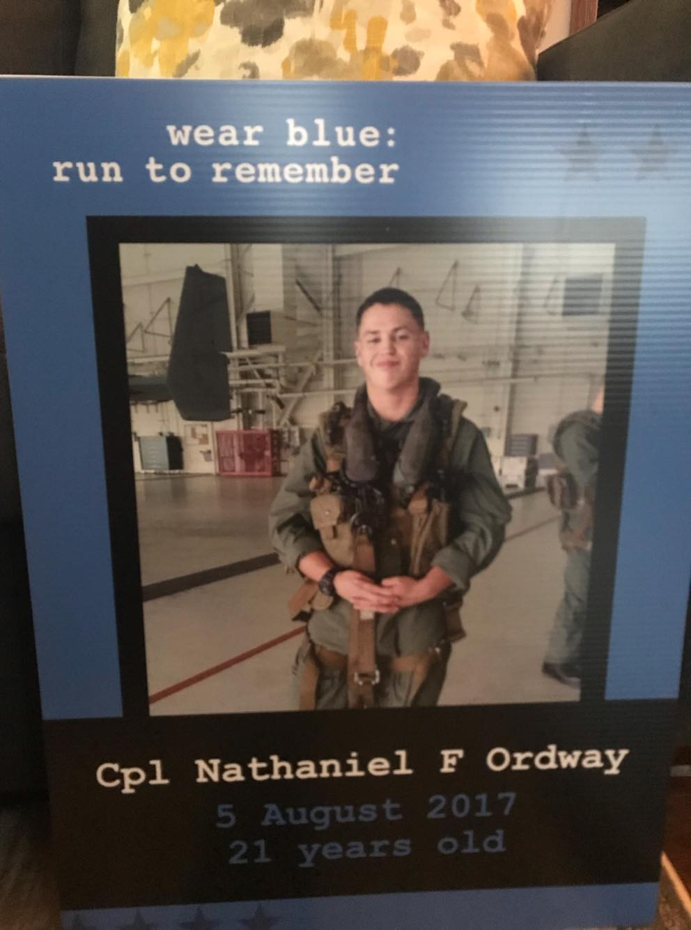 Cpl Nathaniel Ordway Marines