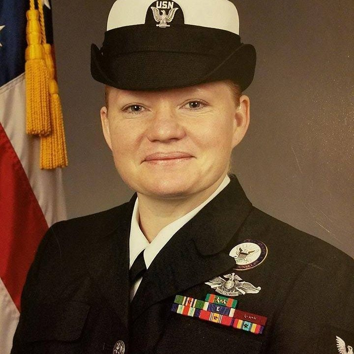 Stacey Meeker, NCC(SW/AW/FMF) USN Ret