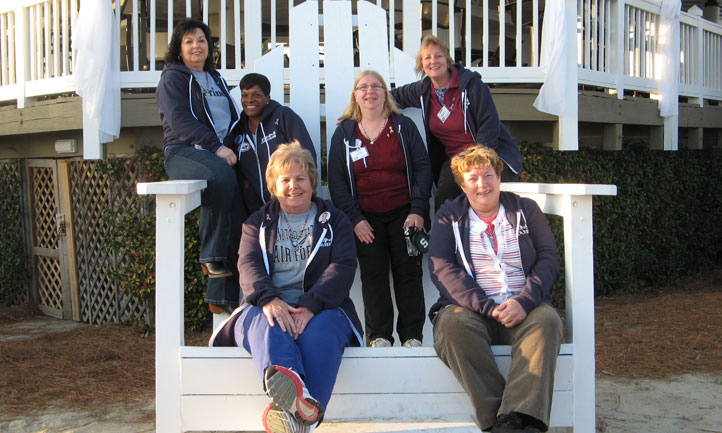 Survivors at a TAPS Retreat