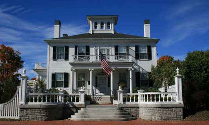 Maine Governor's Mansion https://www.blainehouse.org/