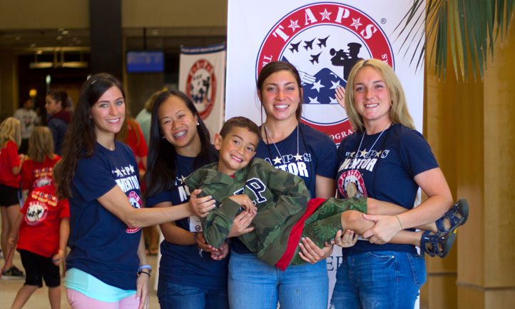 TAPS Mentors and Children