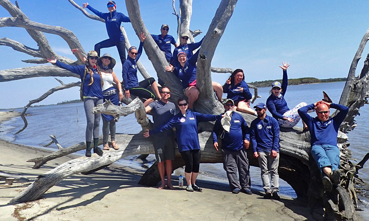 TAPS Survivors at Coastal Kayak Expedition