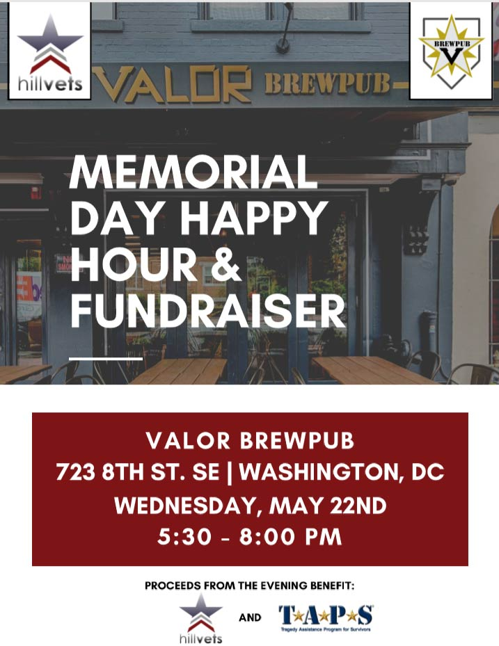 Valor Brew Pub Memorial Day Fundraiser Flyer Cover