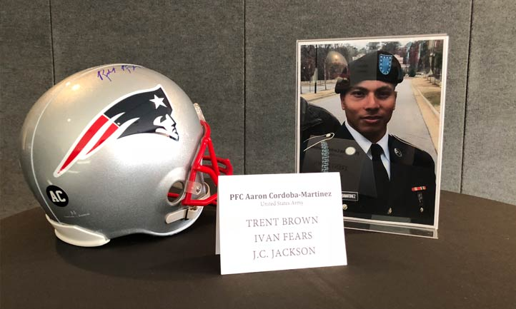 Photo of Fallen Hero at Patriots Salute to Service