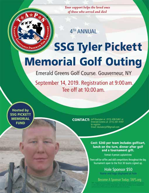 SSG Tyler Pickett Flyer