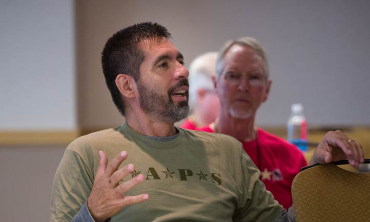 TAPS Survivors at Regional Seminar