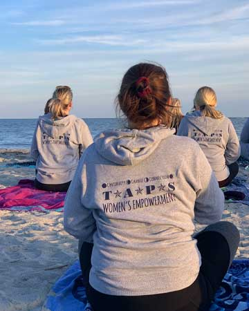 Surviving women at Empowerment retreat