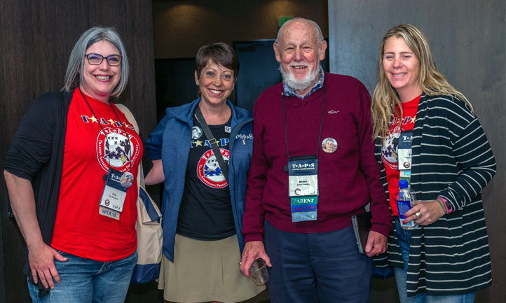 Military Survivors at a TAPS Seminar