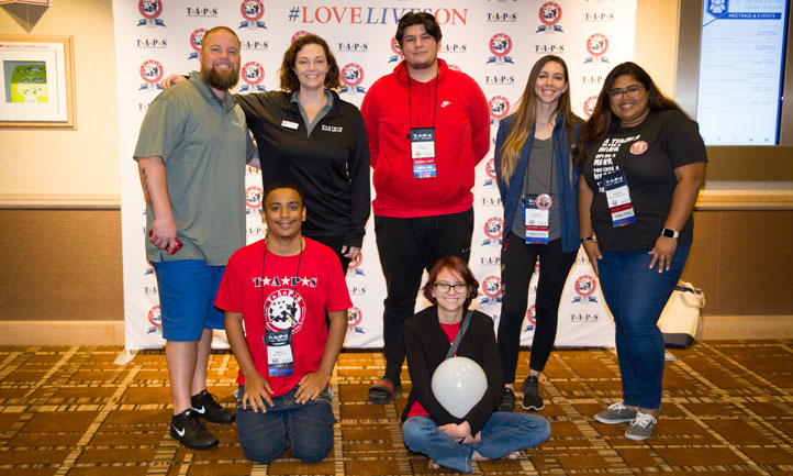 TAPS Young Adults at TAPS Seminar