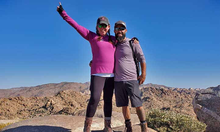 TAPS Survivors at Joshua Tree National Park