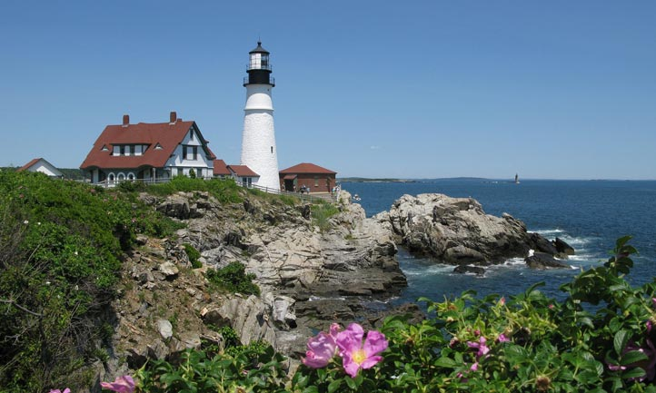 Portland Maine Lighthouse Cape Elizabeth