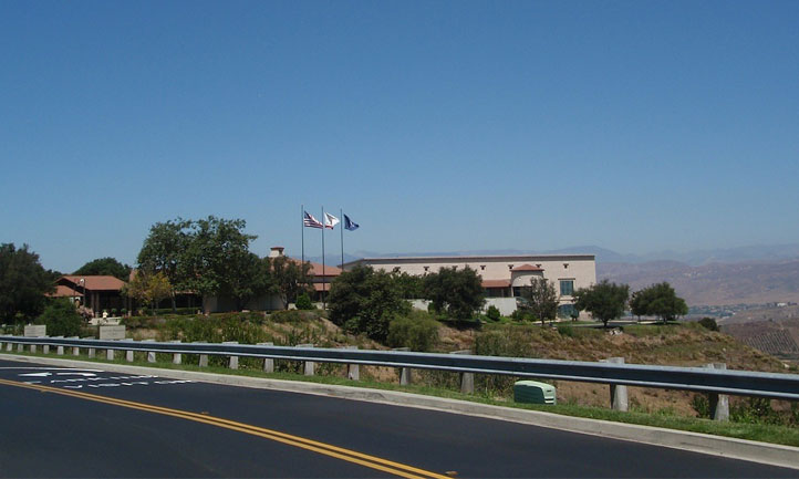 Ronald Reagan Library in Simi Valley California