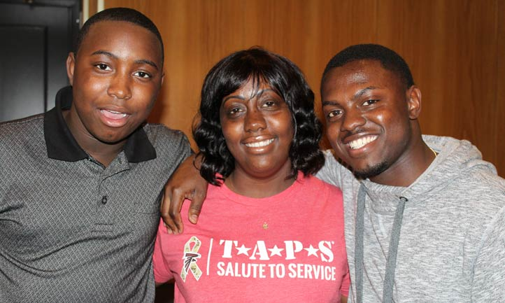 Survivors at TAPS national seminar
