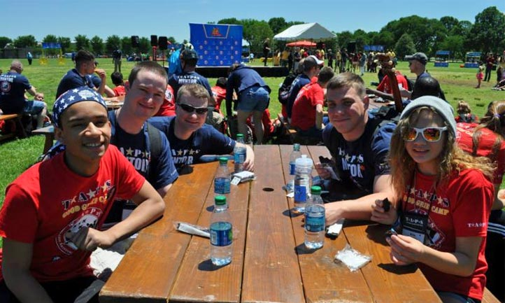 TAPS Survivors together at outdoor event