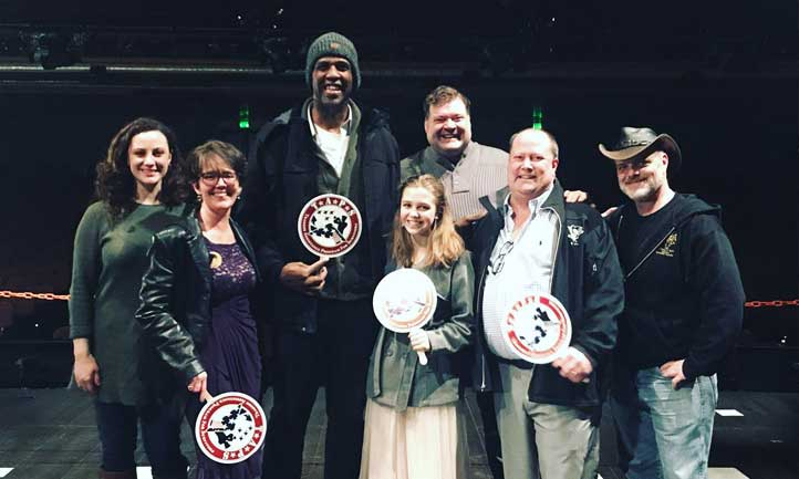 TAPS Survivors attend Phantom of the Opera