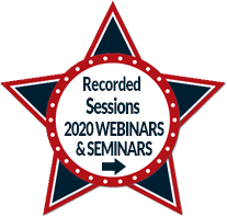 See 2020 Seminar and Webinar Recorded Sessions