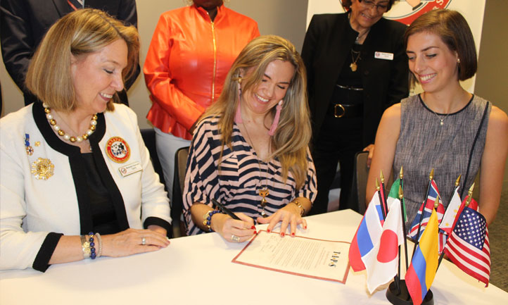 1st Annual International Working Group Agreement Signing