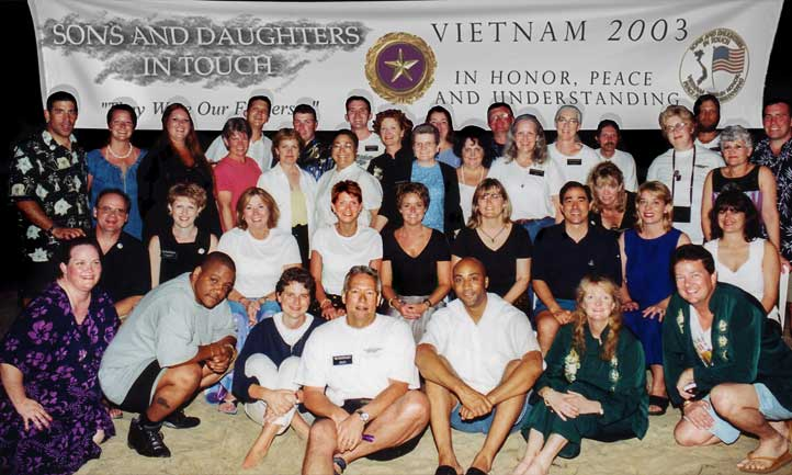 Sons and Daughters in Touch Group Photo - Vietnam Visit