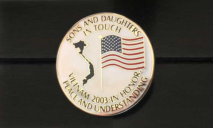 Sons and Daughters Vietnam Visit 2003 Commemorative Coin