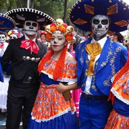 day of the dead celebration