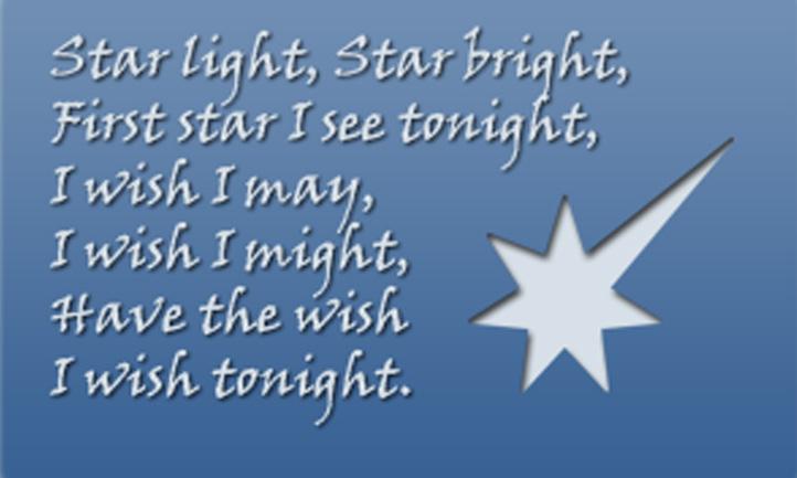 Star Light Star Bright >> Star Light Star Bright