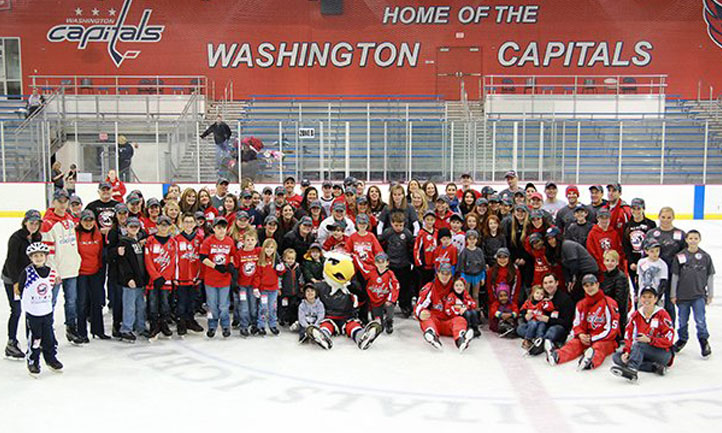 9f33fa361db Washington Capitals Launch Courage Caps