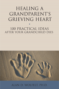Healing A Grandparents Grieving Heart book cover