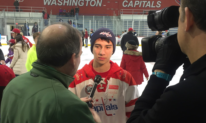 Washington Capitals Courage Caps Event Interview