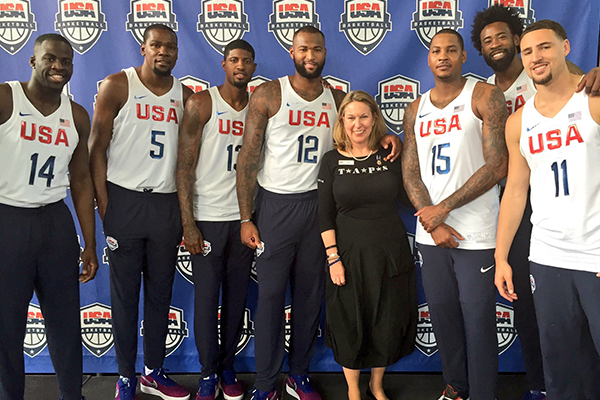 teams4taps USA Basketball