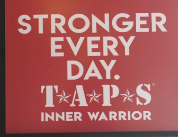 "TAPS ""Stronger Every Day"" Sign"