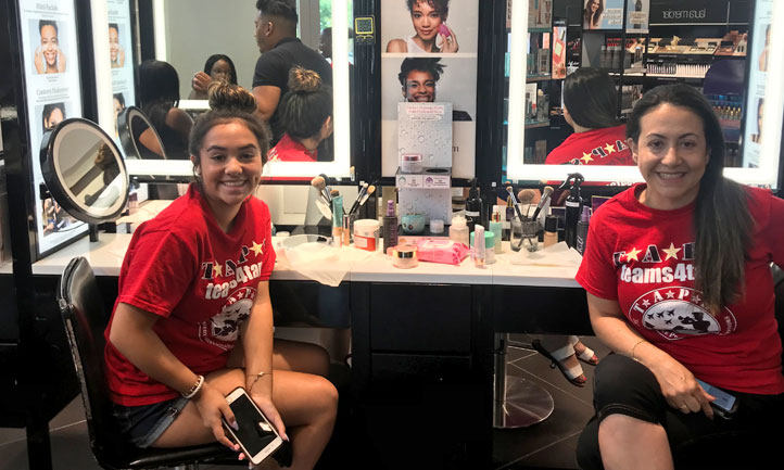 TAPS Together at hair salon