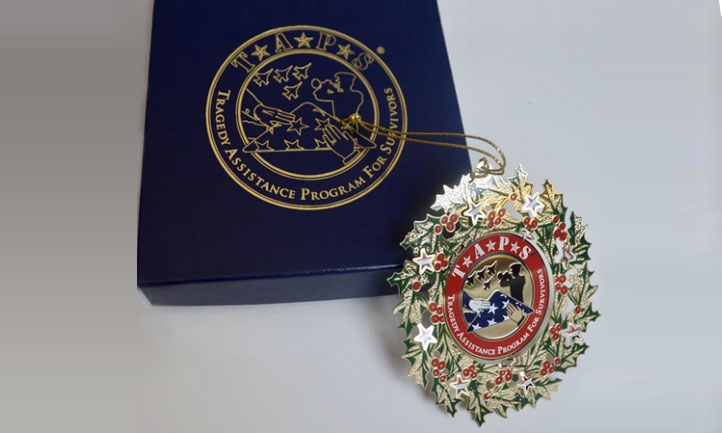 TAPS Logo Tree Ornament
