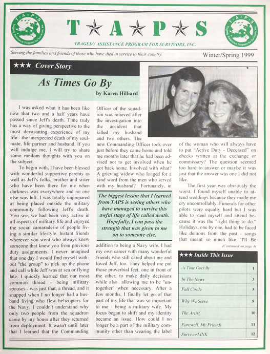 Copy of Winter Spring 1999 Newsletter