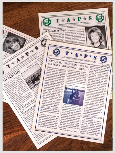 Snapshot of TAPS past Newsletters