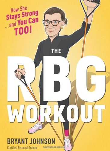 Ruth Bader Ginsberg Workout book cover