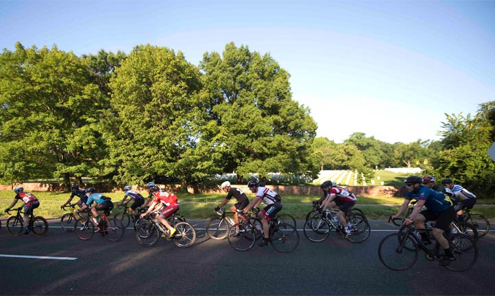 UNITED STATES - June 10, 2017: The 20th Armed Forces Cycling Classic Challenge Ride were cycling enthusiasts of all abilities are able to participate on closed roads. Groups, companies and various organizations are also invited to enter to fundraise for their charity of choice. Registration fees include timing support, a bib number, finishing medal. Sign up for the Challenge Ride during the month of May, and receive a pair of cycling socks, courtesy of DeFeet! A $10 value!overall winner.(Photo By Douglas Graham/WLP)