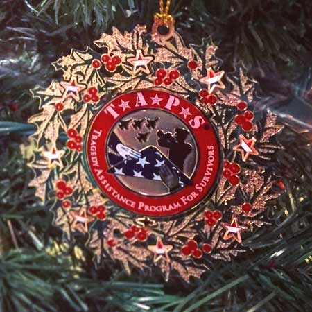 TAPS Christmas Ornament