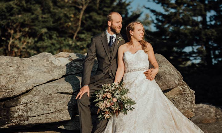 Daniel Allen Evans and Meagan Greygor wedding photo