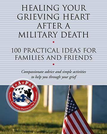 Book cover of Healing Your Grieving Heart After A Military Death