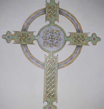 celtic cross by Edward