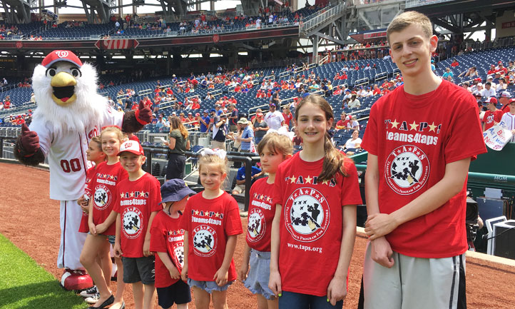 Washington Nationals and TAPS Survivors