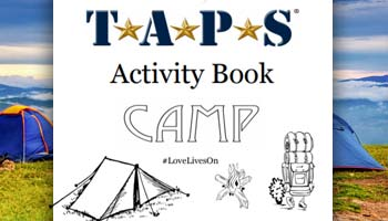 TAPS Youth Programs Activity Book Week 2 Cover
