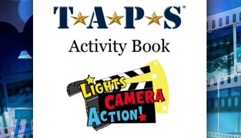 TAPS Youth Programs Activity Book Week 4 Cover