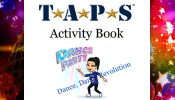 TAPS Youth Programs Activity Book Week 8 Cover