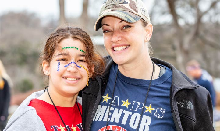 military mentor and taps good grief camper