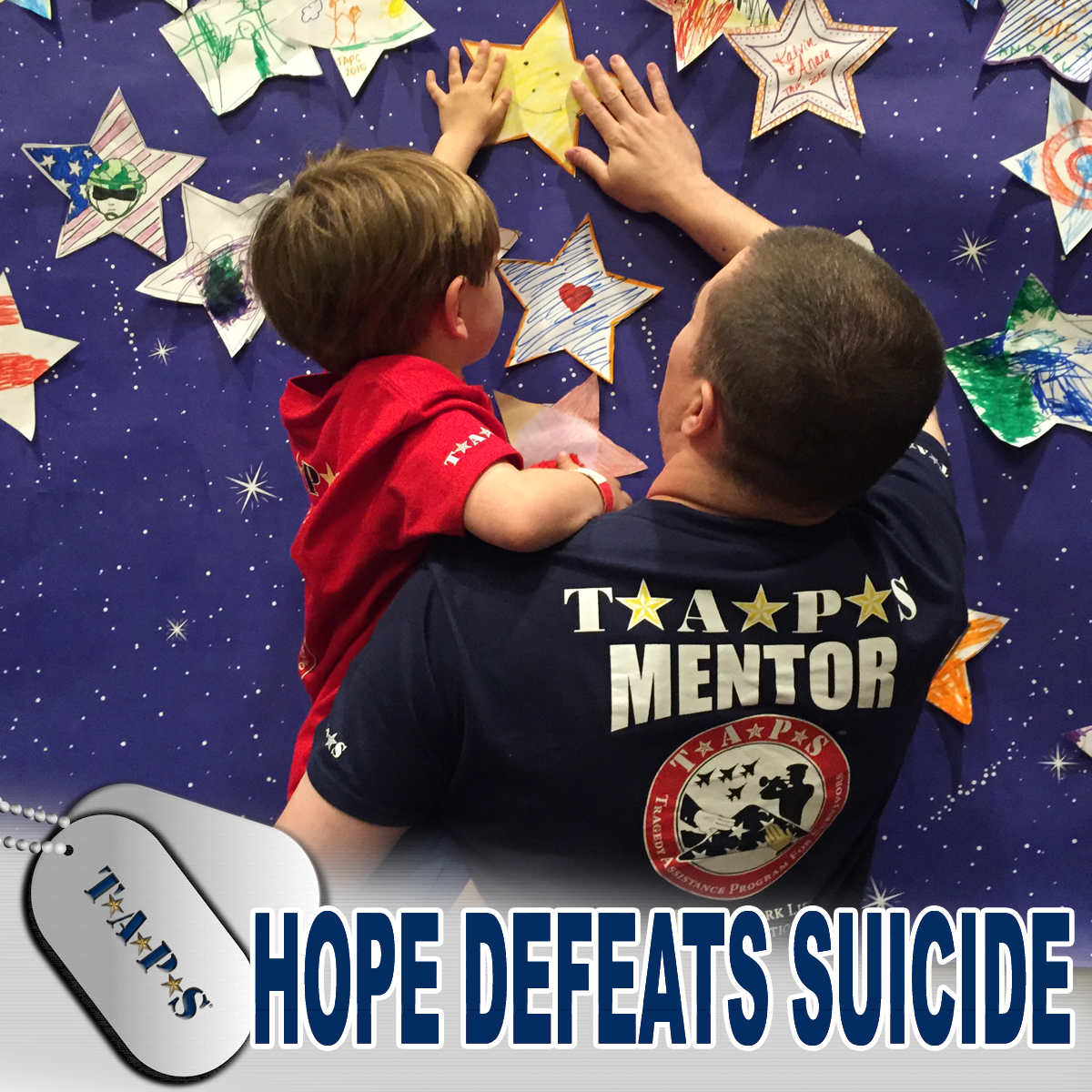 Hope Defeats Suicide Facebook Frame