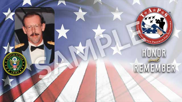 zoom personalized background option 1 - american flag