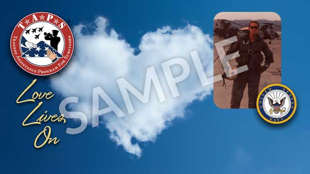 zoom personalized background option 2 - cloud heart