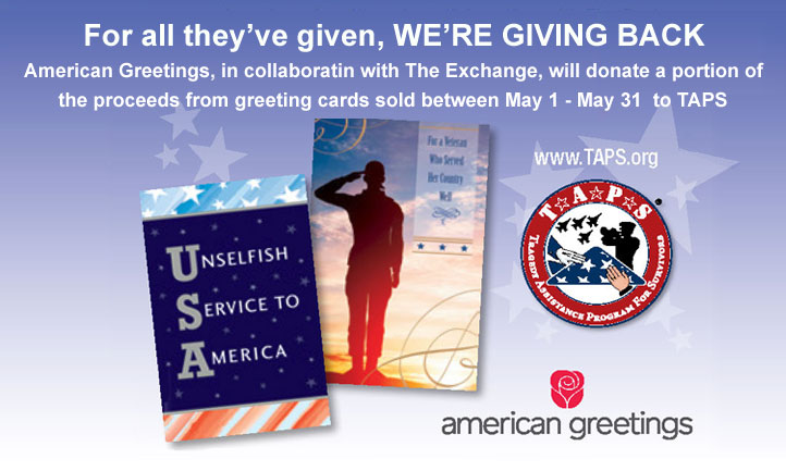 Shop for taps american greetings in collaboration with the exchange will donate a portion of all proceeds may 1 m4hsunfo Choice Image